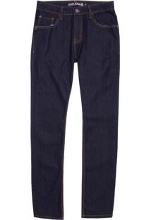 Calça John John Skinny Nepal Jeans Azul Masculina (Jeans Escuro, 42)