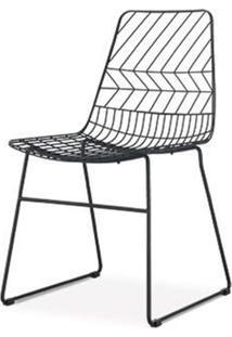 Cadeira Brum Preto Fosco 85 Cm (Alt) - 47508 - Sun House