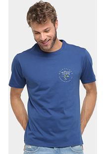Camiseta Quiksilver Básica Boarding Co Masculina - Masculino