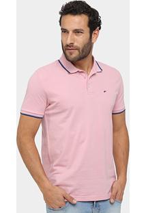 Camisa Polo Ellus Piquet Frisos Classic Masculina - Masculino