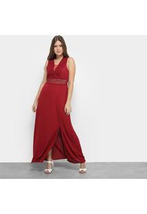 Vestido Only Fashion Renda Recorte - Feminino