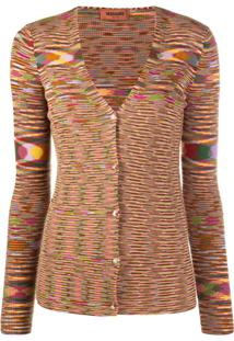 Missoni Knitted V-Neck Cardigan - Amarelo