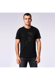 Camiseta Diesel T-Joe-Sq Masculino - Masculino-Preto