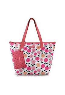Bolsa Com Niqueleira Jacki Design Pink Lover Laranja