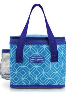 Bolsa Térmica Tamanho Pequeno Jacki Design Fresh Azul - Tricae