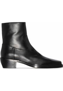 Gia Couture Ankle Boot X Pernille Teisbaek Com Salto 60Mm - Preto