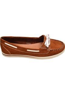 Sapato Feminino Mocassim Bottero Marrom