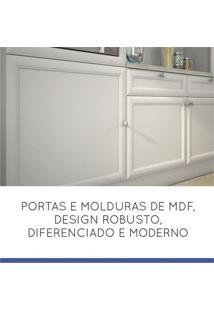 Cozinha Compacta 7 Portas 2 Gavetas Loft Americano Nesher Móveis Branco