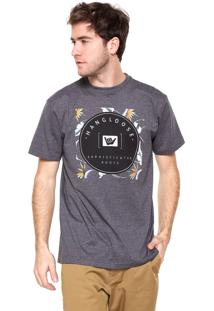 Camiseta Hang Loose Keane Cinza