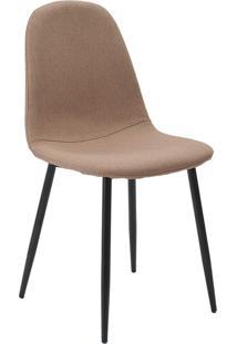 Cadeira Tania-Rivatti - Caqui / Preto