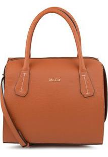 Bolsa Baú Basic Winter Skin Tan - Tan/Un