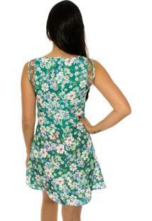Vestido Capim Canela Cesta Floral