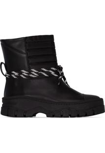 Ganni Ankle Boot Chunky - Preto