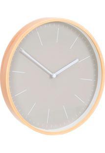 Relógio De Parede Fit 25Cm Cinza