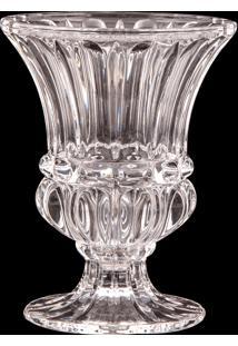 Vaso Decorativo De Cristal Garbia