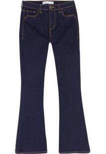 Hering. Calça Jeans Feminina Flare Petit 085b6560a9