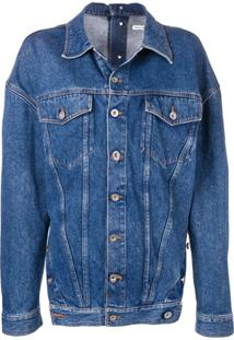 Diesel Red Tag Jaqueta Oversized - Azul