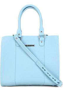 Bolsa Sweetchic Shopper Cairo Feminina - Feminino-Azul Claro