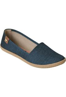 Sapatilha Moleca Jeans Com Palmilha Confort