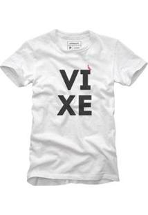 Camiseta Reserva Vixe Masculina - Masculino-Branco
