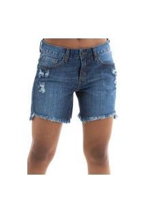 Bermuda Its&Co Jennifer Jeans Escuro