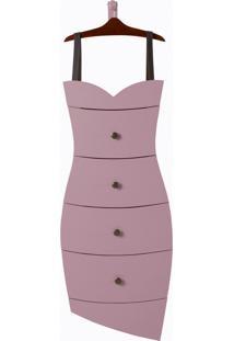 Cômoda Dress Lilás Laca M55