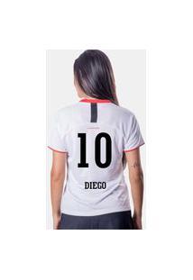 Camiseta Flamengo Insight Feminina 10 Diego