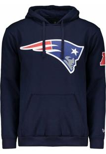 Casaco Moletom New England Patriots Basic Azul - New Era - Masculino