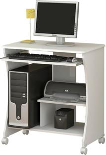 Mesa De Computador Ditália Mc-153 Branca
