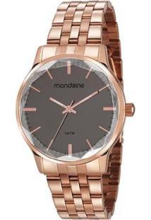 Relógio Mondaine 40Mm Aço Feminino - Feminino