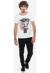 Camiseta Hermoso Compadre Tiger - Masculino