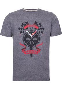 Camiseta Masculina Flags Corvette Incolor