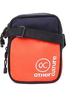 Bolsa Shoulder Bag Other Culture Brand - Masculino-Azul