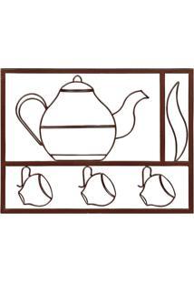 Quadro Conjunto Chá