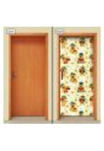 Adesivo Decorativo De Porta - Ursinhos - Infantil - 1920Cnpt