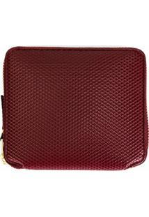 Comme Des Garçons Wallet Carteira Modelo 'Luxury Group' - Vermelho