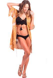 Kimono Gypsyli Gold Dourado
