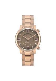 Relógio Technos Feminino Rose Analógico 2039Bv4M