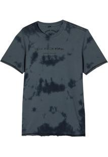 Camiseta John John Rg Survivors Edition Malha Azul Marinho Masculina (Midnight Navy, Pp)