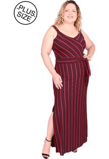 64533be52 ... Vestidos Plus Size Arimath Plus Malha Vermelho