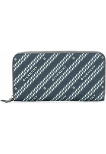 Givenchy Porta-Moedas Bond Com Zíper - Azul