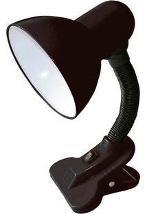 Abajur Luminária Ajustável De Mesa Com Clip Thata Esportes