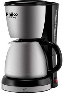 Cafeteira Ph 30, Capacidade Para 30 Xícaras, Jarra De 1,5L Em Aço Escovado, Fitro Removível, Chapa De Aquecimento, Sistema Corta Pingos - Philco
