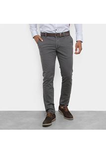 Calça Sarja Skinny Jab Bolso Faca Cintura Baixa Slim Masculina - Masculino