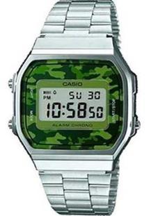 Relógio Casio Vintage A168Wec-3Df - Unissex