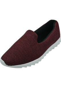 Tênis Confort Sand Shoes Bordô