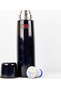 Garrafa Térmica Inquebrável Azul 1 Litro Thermos
