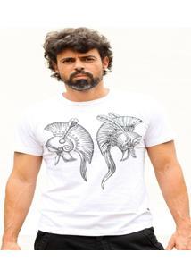 Camiseta Hardivision Elmos Manga Curta - Masculino