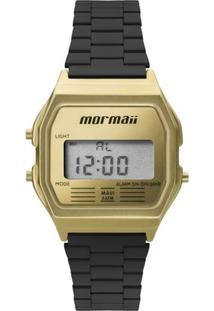 Relógio Mormaii Feminino Sunset - Mojh02Ak/4D Mojh02Ak/4D - Feminino-Dourado+Preto