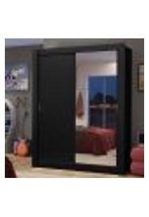 Guarda-Roupa Solteiro Madesa Dallas 2 Portas De Correr Com Espelho 2 Gavetas